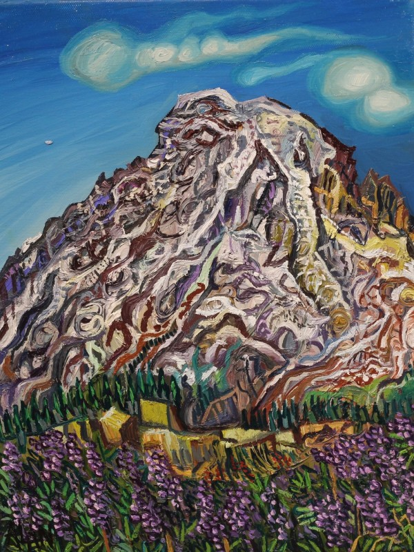 Painting of Mount Rainer, Washington