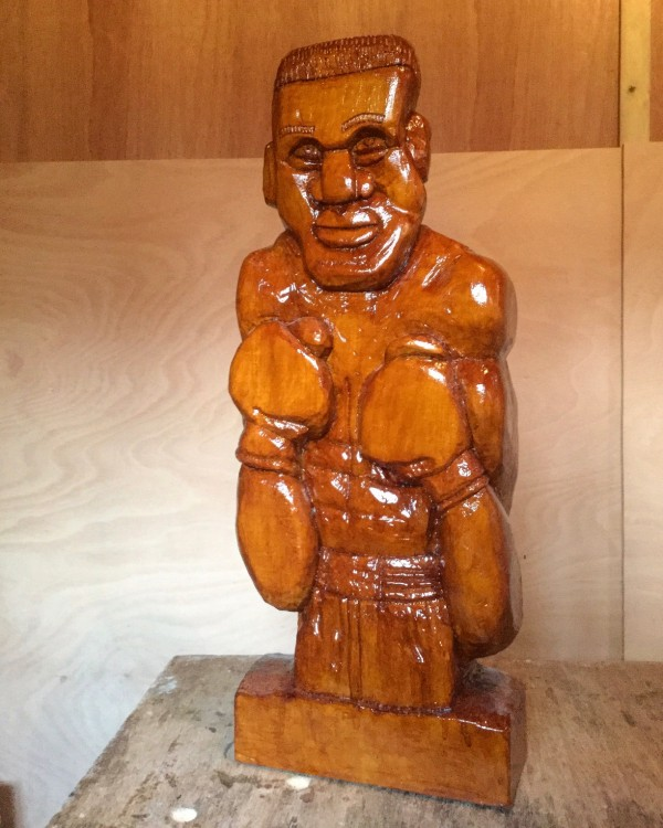 world champ lime wood carving